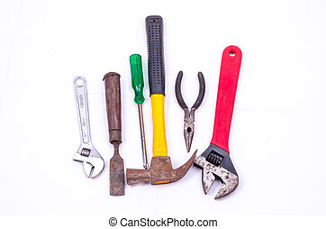 Mechanic tool - mechanic tool on white background