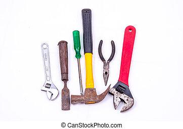Mechanic tool - mechanic tool on white background