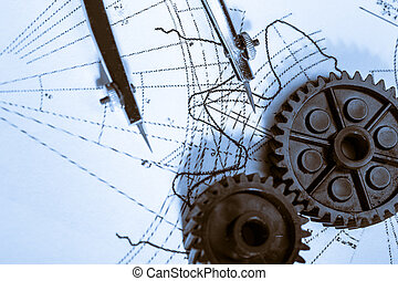 Mechanical ratchets, dividers and drafting