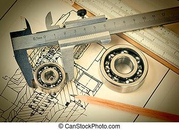 mechanical scheme and bearing - mechanical scheme and ...