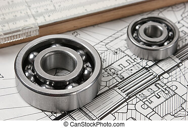 mechanical scheme and bearing