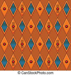 Mechanical seamless pattern