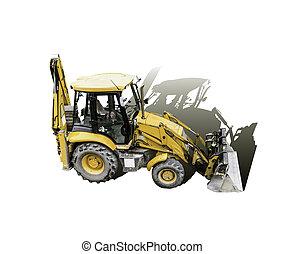Mechanical shovel