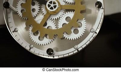 Mechanical watches. Mechanical wall clock