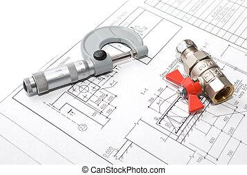 Mechanics plan and tools