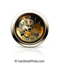 mechaniczny, zegar