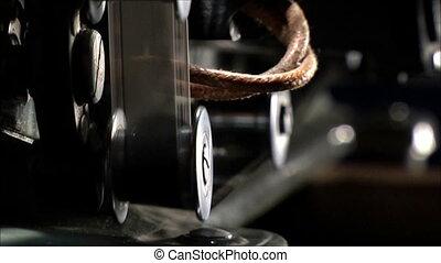mechanism of film projector