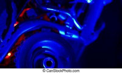 Mechanism of robot closeup shot