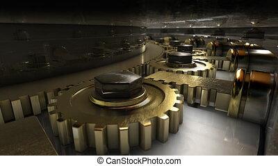 Mechanism of vault door - Safe lock mechanism