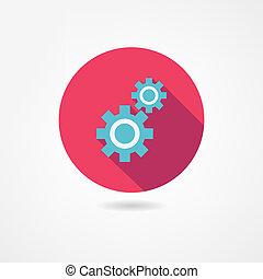 mechanismus, ikone