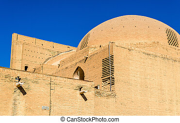 mecset, közfal, irán, shah, isfahan