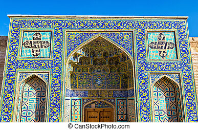 mecset, shah, irán, kapu, isfahan