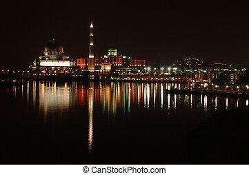 meczet, noc