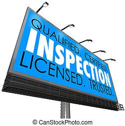 med licens, annons, kvalificerat, trusted, affischtavla,...
