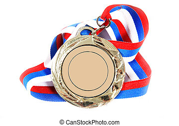 Medal and color Ribbon