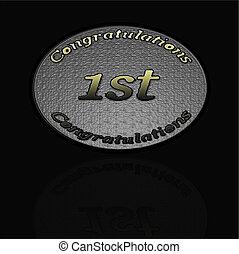 Medal award 1st place
