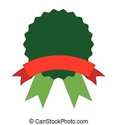 medal emblem ribbon icon