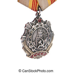 medal of Labor glory of soviet union