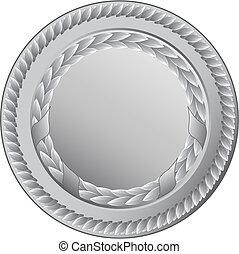 medalha, prata