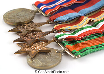 Medals for Bravery - World war 2 medals