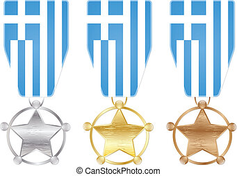 medals - greece