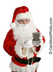 meddelande, jultomten