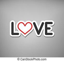 meddelande, kärlek, kylig