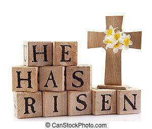 meddelande, påsk