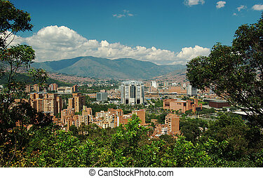 Medellin, the second biggest city in Colombia, which is the...