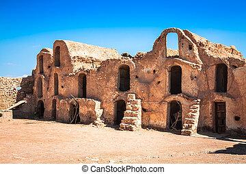 Medenine (Tunisia) : traditional Ksour (Berber Fortified...