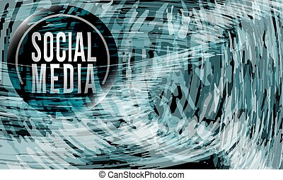 media, abstract, pictogram, achtergrond, sociaal