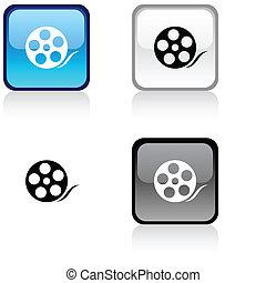 Media button.