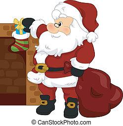 media de navidad