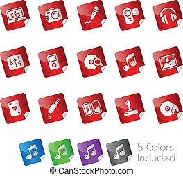Media & Entertainment / Stickers