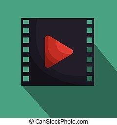 media film tape icon