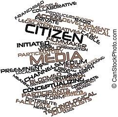 media, obywatel