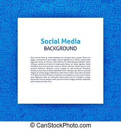 media, papier, mal, sociaal