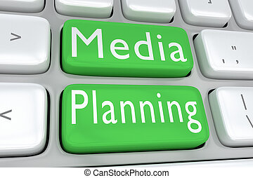 Media Planning concept