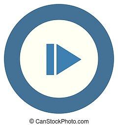 media player button icon