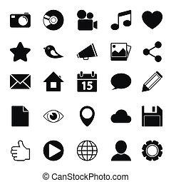 Media Social Icons