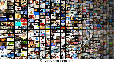 media - television or internet streaming, made from my...