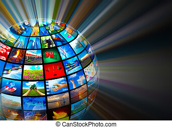 Media technologies concept - Creative media technologies...