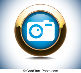 media web button