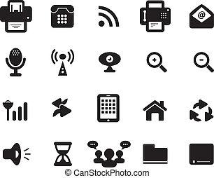 media, zakomunikowanie ikona