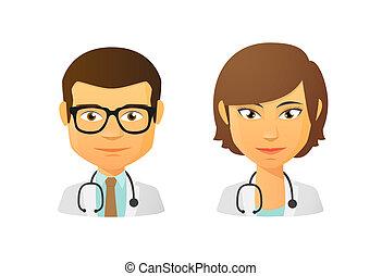 Medic avatar set