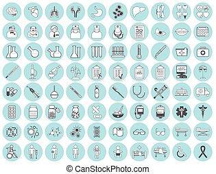 Medic icon vector illustration
