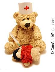 medic & patient
