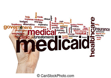medicaid, 単語, 雲