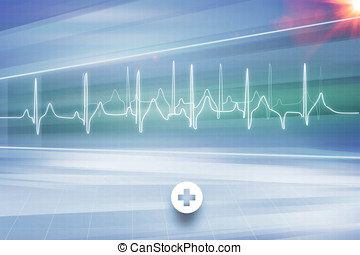 Medical Abstract Background Concept Series 06