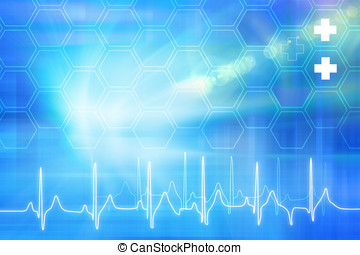 Medical Abstract Background Concept Series 03